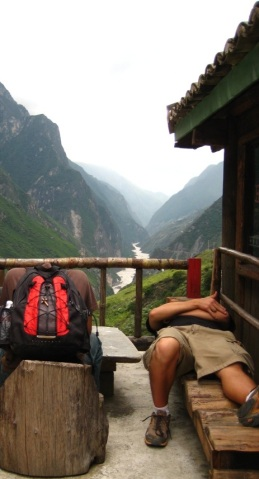 Sleeping in Yunnan, China