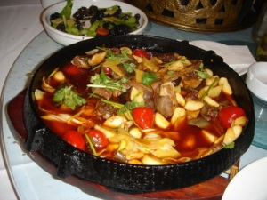 Spicy Beijing Fish Dish