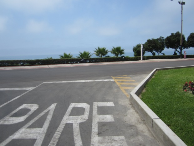 Road at Miraflores in Lima, Peru