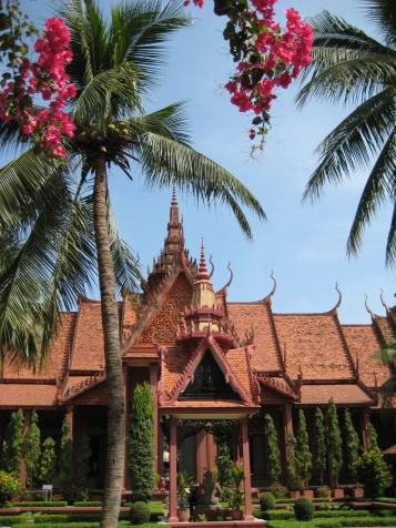 Temple in Phnom Penh, Cambodia