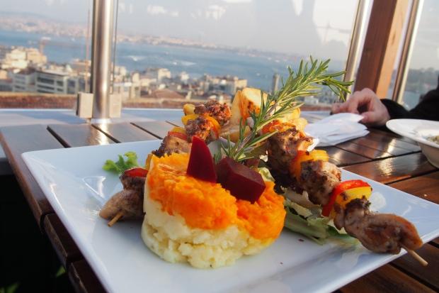 Dinner in Istanbul, Turkey