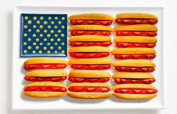 USA Food Flag