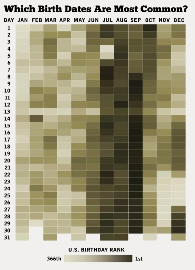 Birthday Infographic