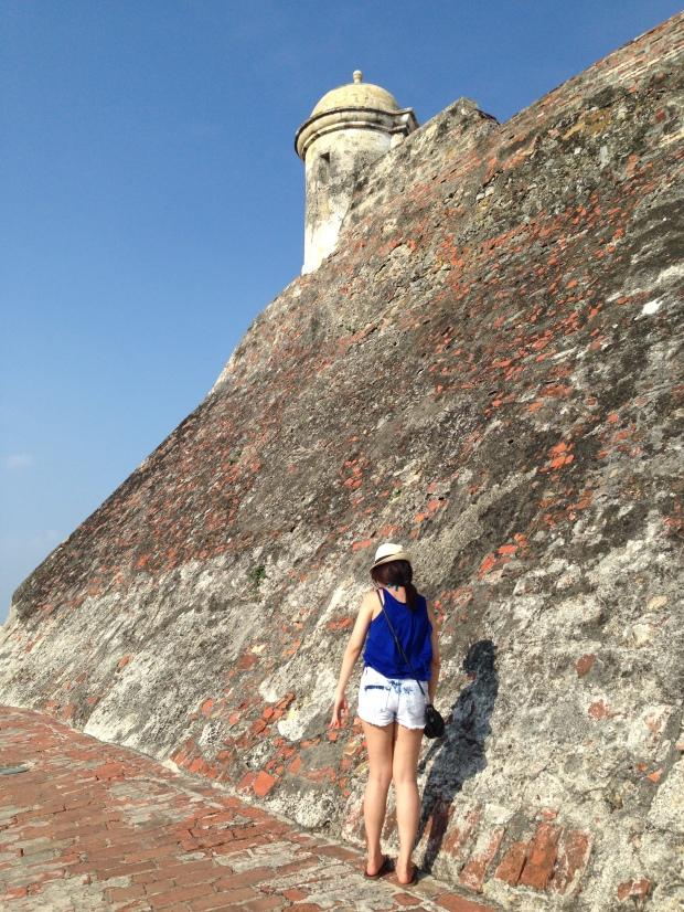 Castillo de San Felipe in Cartagena, Colombia