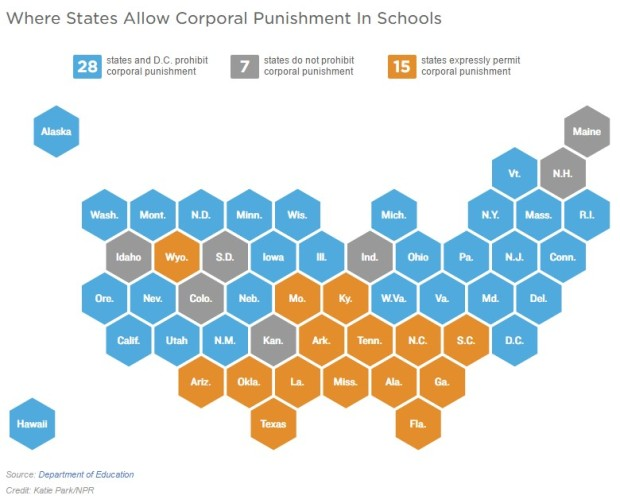 us-states-with-corporal-punishment-in-schools